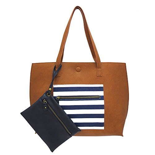 under-one-sky-womens-reversible-tote-with-nautical-striped-pocket-cognac