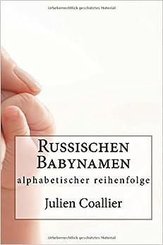 Book Russischen Babynamen: alphabetischer reihenfolge