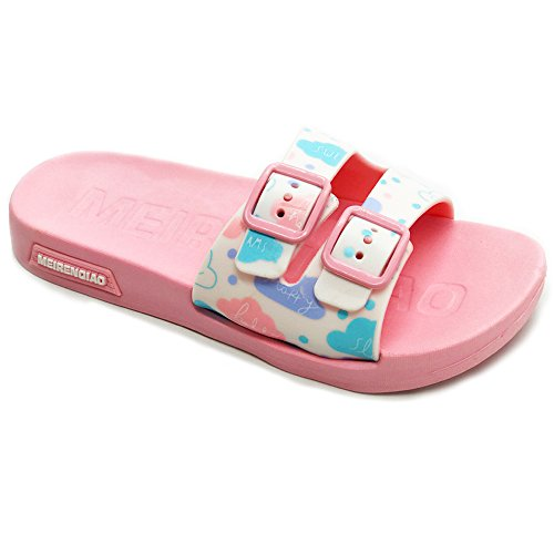 ght Shock Proof Slippers Non-Slip Sandals Beach Flip-Flops(3M/35 US Little Kid,S Pink) (Eva Foam Flip Flops)