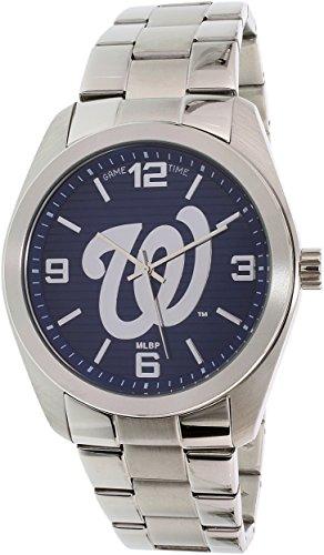 Washington Nationals Clock (Game Time Men's MLB-ELI-WAS