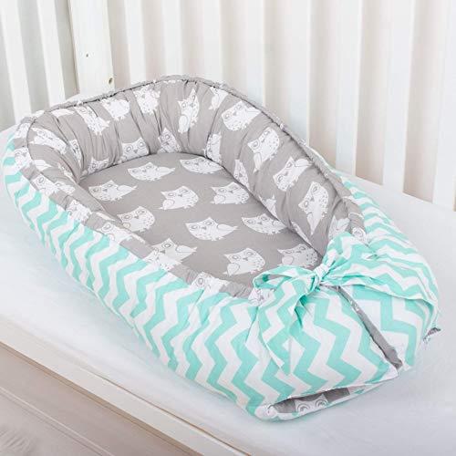 Babynest Gray Baby Nest Free Shipping Newborn Snuggle Bed Co Sleeping Baby Nest