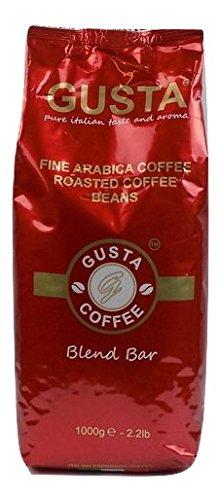 Gusta Blend Bar, Premium Arabica Coffee Beans, 1kg: Amazon.es: Alimentación y bebidas