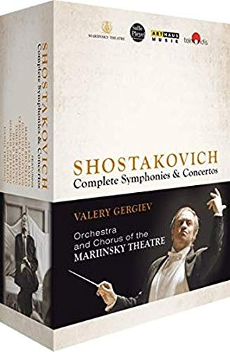 The Shostakovich Cycle- Complete Symphonies & Concertos [Box Set] [Blu-ray]