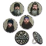Duck Dynasty Cupcake Rings - 12 ct