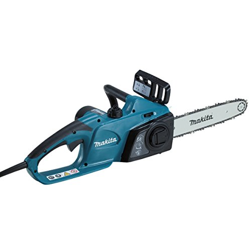 Makita UC3541A/2 240V Electric Chainsaw 35cm 1800W, 1800 W, 240 V, Blue, Large
