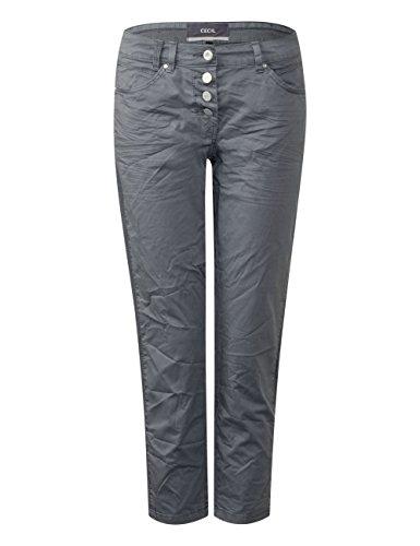 Cecil Pantalon Femme Grau 10498 Light graphit Grey HBH4rzx