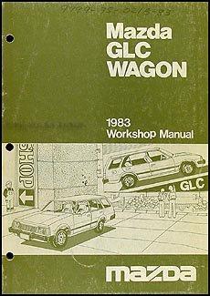 1983 Mazda GLC Wagon Repair Shop Manual Original ()