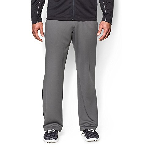 Under Armour Men's Reflex Warm-Up Pants, Graphite/Black, Medium