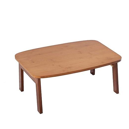 Mesa de Comedor Plegable, Mesa de bambú Plegable, Mesa de portátil ...