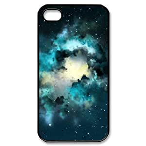 YCHZH Phone case Of Colorful Space Nebula Cover Case For Iphone 4/4s