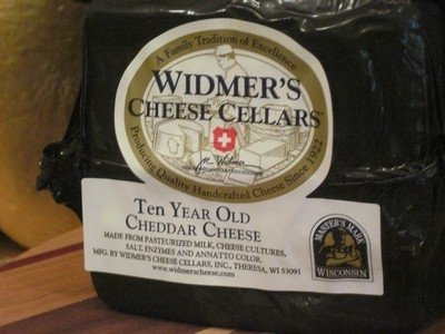 Widmers 10 Year Cheddar Cheese 1 (Aged Sharp Cheddar)