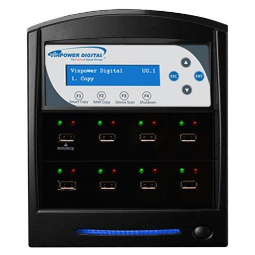 Vinpower Digital USBShark Standalone USB Flash Drive Duplicator - 7 Targets (High Speed)