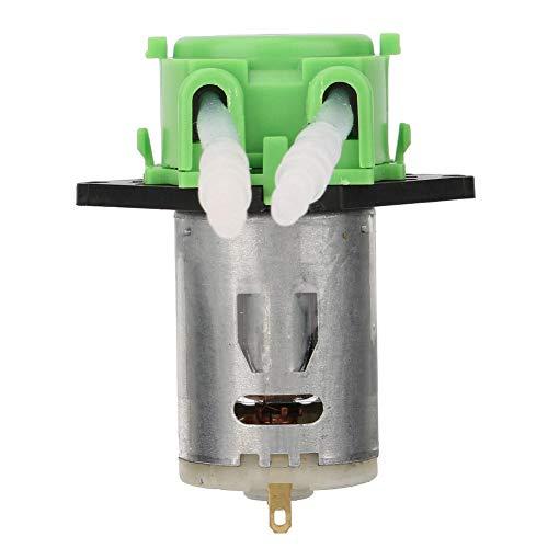 Effacer 12V 35 Dosing Pump Peristaltic Dosing Head ,Peristaltic Tube Head for Aquarium Lab Chemical Analysis (Green)
