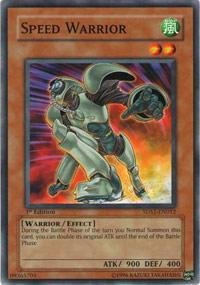 Yu-Gi-Oh! - Speed Warrior (5DS1-EN012) - 5Ds Starter Deck - Unlimited Edition - Common ()