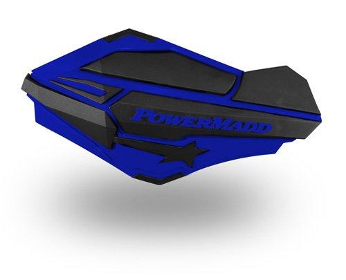 PowerMadd 34404 Blue/Black Sentinel Handguard
