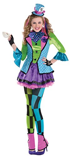 Amscan Sassy Mad Hatter Costume - Teen Small]()