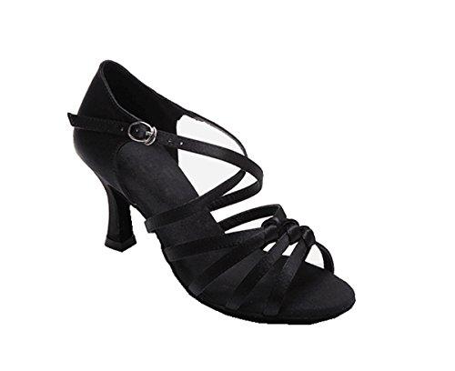 7 5cm Miyoopark femme Heel de bal Salle Black XYrXHw