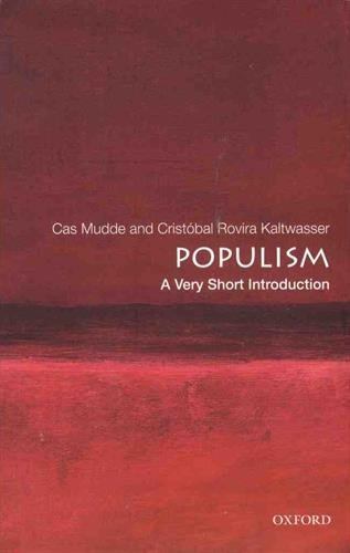 Populism: A Very Short Introduction (Very Short Introductions)