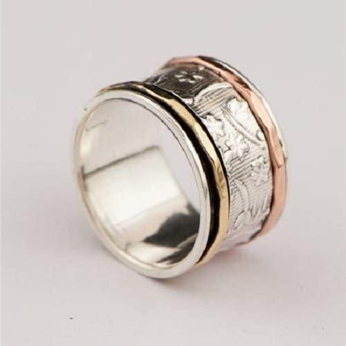 Anillo de spinner - anillo de meditación - anillo de anti ...