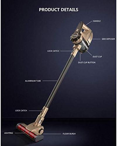 MxZas Portable 2 en 1 de Poche sans Fil Aspirateur Cyclone Filtre 8900Pa Forte Aspiration Collecteur de poussière Aspirateur Jzx-n