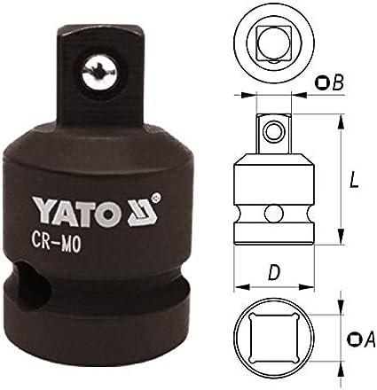 Druckluft Schlagschrauber Nuss Reduzierstück Adapter 1 2 Auf 3 4 Baumarkt