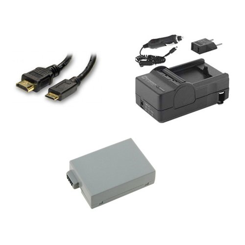 Sdm 1518 Charger (Canon EOS Rebel T5i Digital Camera Accessory Kit includes: SDLPE8 Battery, SDM-1518 Charger, HDMI6FM AV & HDMI Cable)