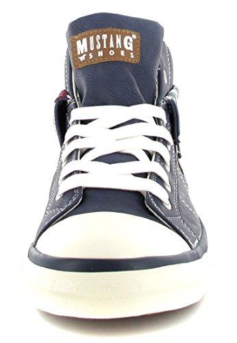 Mustang Zapatillas Para Mujer, Color Dunkelblau, Talla 44