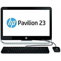 HP Pavilion 23 Inch FHD All-in-One Desktop (Intel G3260 Dual-Core 2.9GHz, 4GB DDR3 RAM, 1TB HDD, Wifi, DVD, Windows 8.1 Upgradable to Win 10) (Certified Refurbished)