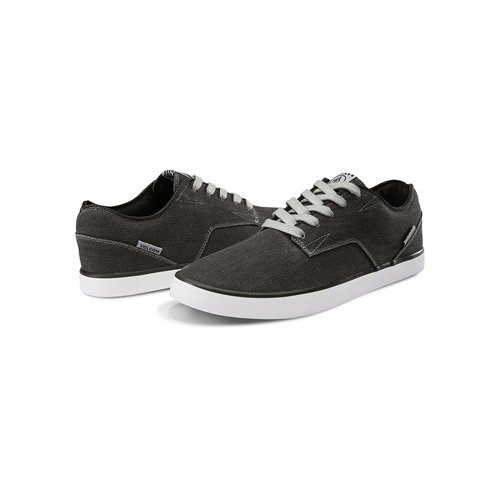 Volcom Men's Govna Skateboarding Shoes Vintage Black JCUX2