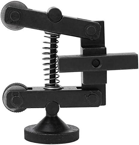Heitune 1 Pcs Knurling Knurler Tool Holder Linear Knurl Tool Lathe Adjustable Shank With Wheel