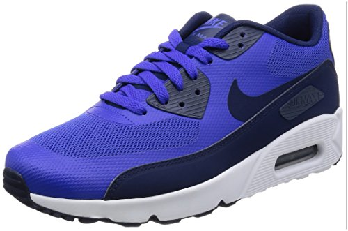 Nike Air Max 90 Ultra 2.0 Essential, Zapatos para Correr para Hombre Multicolor (Paramount Blue/binary Blue-white)