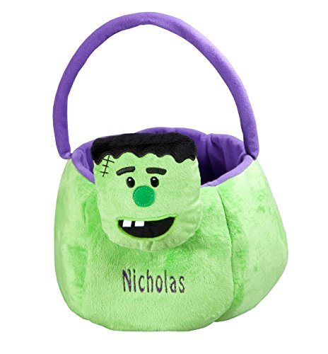 Fox Valley Traders Personalized Frankenstein Trick or Treat Bag