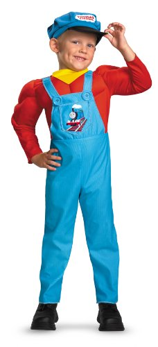 The Thomas Muscle Costumes Tank (Thomas The Tank Muscle Child Costume)