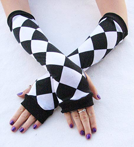 Harlequin Jester Arm Warmers ()