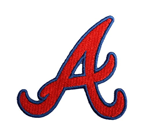 - Braves A Embroidered Sew/Iron On Patch InspireMe Family Owned (Medium)