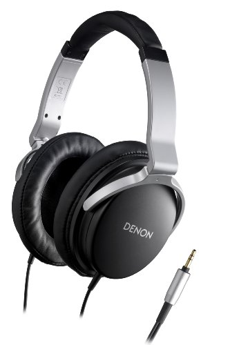 Denon AH-D1100 Advanced Over-Ear Headphones (Black)