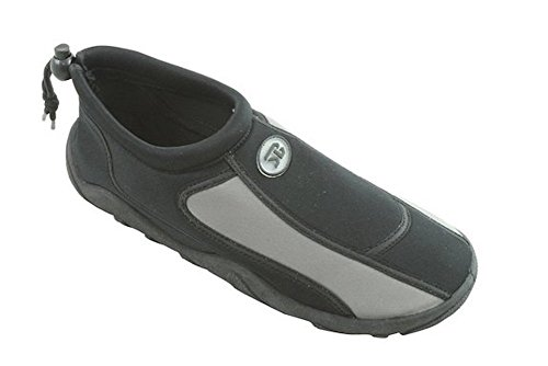 Mens Slip On Water Pool Aqua Sock Nero 5905