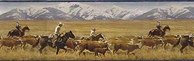 Horses Wallpaper Border MRL2434