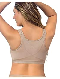 Leonisa Women's Posture Corrector Wireless Back Support Bra