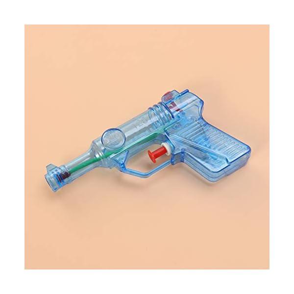 Toyvian 24pcs Trasparente Piccola Pistola ad Acqua per Bambini Giocattoli Acqua Schizzi Grandi Giocattoli Estivi (Colore… 3 spesavip