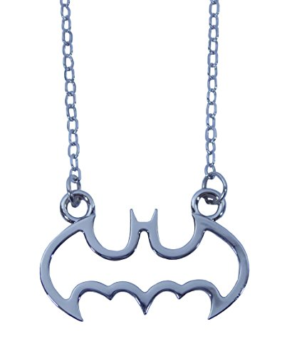 Batman Necklace Charm Pendant Warner Bros Original Officially Licensed Costume