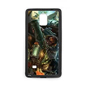 Samsung Galaxy Note 4 Cell Phone Case Black League of Legends Cutpurse Twisted Fate YD492883