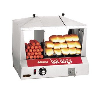Star 35SSC Classic Steampro Jr Hot Dog Steamer with Bun Warmer