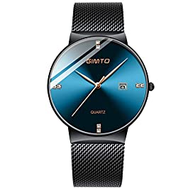 RORIOS Fashion Women Watch Calendar Dial Stainless Steel Strap Ladies Dress Wristwatch