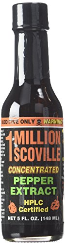 (1 Million Scoville Pepper Extract Hot Sauce, 5oz)
