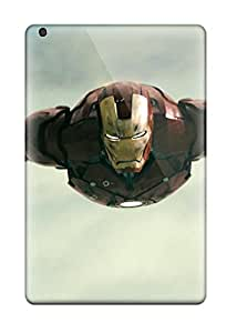 Mini/mini 2 Awesome Case Cover Compatible With Ipad Mini/mini 2 Iron Man Flying