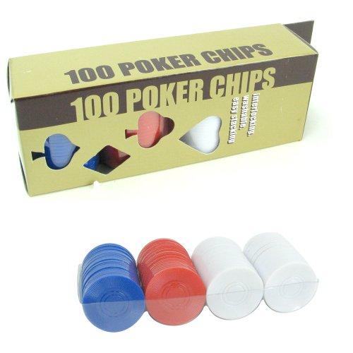 Trademark 100 Radial Poker Chip Set (Multi)