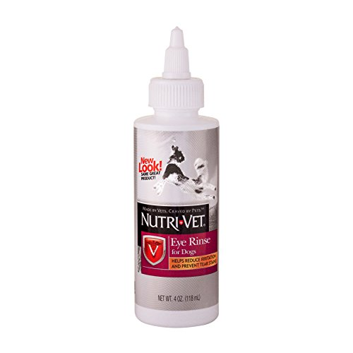 Nutri-Vet Eye Rinse Liquid for Dogs, 4-Ounce Rinse Liquid
