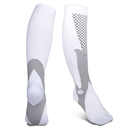 Compression Socks for Women&Men,Best Athletic Fit for Riding,Running,Nurses,Athletic Sports,Shin Splints,Varicose Veins,Flight Travel,Maternity Pregnancy-Boost Performance,Blood Circulation& Recovery