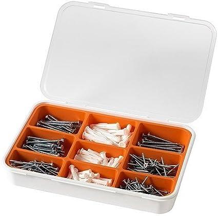 IKEA Fixa - Conjunto de tornillos y tacos 260 piezas: Amazon.es: Bricolaje y herramientas